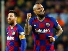 El Barça pone precio a la salida de Arturo Vidal al Inter. EFE