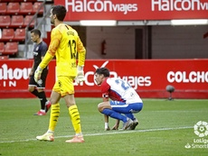 Sporting y Girona empataron a cero. LaLiga