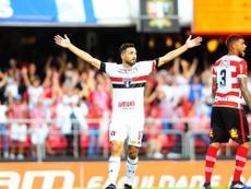 São Paulo e Chapecoense empataram, em 2-2. Twitter