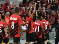 Libertadores: prováveis escalações de Athletico-PR e Peñarol. Twitter @AthleticoPR
