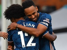 Willian, un debut soñado sin guinda: dos asistencias, una falta al palo... AFP