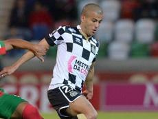 Aymen Tahar vuelve a Boavista. Twitter/BoavistaOficial