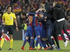 Aytekin no quiso hablar del Barça-PSG. EFE