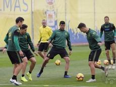 Las Palmas se enfrentará al Granada. Twitter/UDLasPalmas