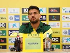 Aythami quiere que se vuelva a hablar solo de fútbol. UDLP_Oficial