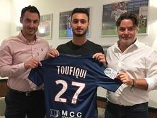 Azzeddine Toufiqui, nuevo jugador del Caen. SMCaen