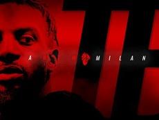 Bakayoko rejoint Milan. Twitter/ACMilan