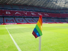 Rainbow corner flags will be used against Eintracht Frankfurt. FCBayern