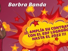 Barbra Banda renueva. EDFLogroño