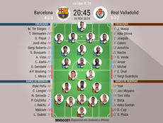 Barcelona - Real Valladolid 24ª jornada. BeSoccer