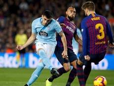 El Celta dice no a 25 millones del Barça por Maxi Gómez. EFE