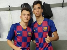 Valdés recluta a dos ex del Moratalaz para su filial del Barça. Instagram