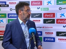 Josep María Bartomeu, presidente do Barcelona, criticou o uso do VAR. Captura/MovistarLaLiga