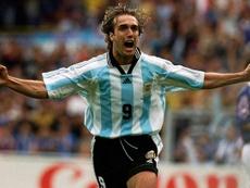 Batistuta, un célebre goleador argentino, reconoció que no le entusiasmaba el deporte rey. Twitter