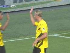 El BVB arrancó con goleada y un nuevo socio en la fiesta. Captura/ESPN