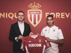 Ben Yedder s'engage en faveur de l'AS Monaco. EFE