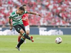 Benfica le ganó el derbi a su vecino. Twitter/Sporting_CP