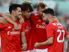 Benfica prépare l'arrivée de Schettine. Twitter@ligaportugal