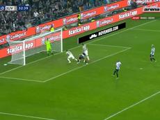 Bentancur opens the scoring. Captura/ArenaSport2