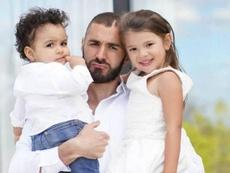 Benzema es padre de una niña y un niño y está casado con una modelo. Instagram