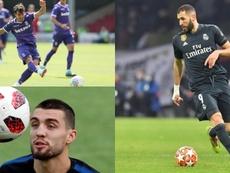 Otto giocatori che hanno segnato in Champions League prima di compiere 18 anni. BeSoccer/EFE