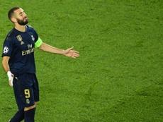 KB9, l'homme fort du Real Madrid. AFP
