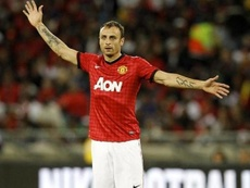 Dimitar Berbatov was very critical of Manchester United's current situation. AFP
