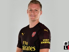 Leno has made the move to the Premier League. ArsenalFC