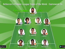 Premier League TOTW Gameweek 16. BeSoccer