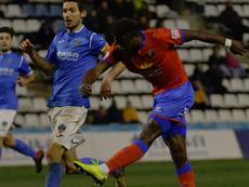 Bikoro podría convertirse en jugador del Zaragoza. Twitter/TeruelCd