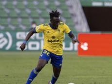 Adekanye termina su cesión en el Cádiz y vuelve a la Lazio. CádizCF