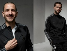 A curiosidade em torno da nova camisa da Juventus. Twitter/JuventusFC