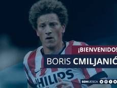 Boris Cmiljanic, nuevo jugador del Huesca. SDHuesca