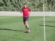 Boris Cmiljanic jugará lo que queda de temporada cedido en el Atlético Levante. SDHuesca