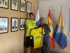 Boris Rapaic ya firmó con el filial de Las Palmas. UDLP