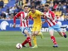 Borja Galán destacó el poderío ofensivo del Almería. LaLiga