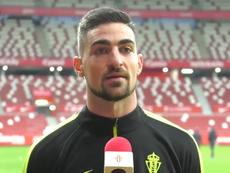 Borja López habló tras la derrota. Captura/Sporting