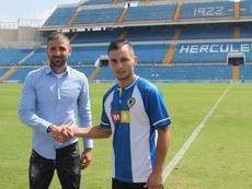 Borja Martínez no se ve dando un paso atrás. CFHércules
