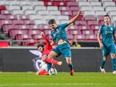 Benfica perde a segunda seguida e vê o Sporting abrir vantagem. Twitter @SCBragaOficial