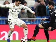 Zidane conta com Brahim para a próxima temporada. EFE