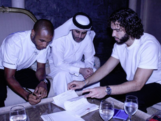 Brahimi es nuevo jugador del Al Rayyan. Twitter/AlrayyanSC