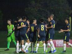 Os convocados do Brasil para a Copa do Mundo Sub-17. Twitter/CBF_Futebol  Add video