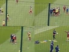 Tensión entre Sirigu y Rincón en el entrenamiento del Torino