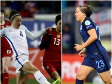 England duo Bronze and Kirby have received inaugural Women's Ballon d'Or nominations. AFP