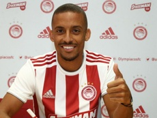 Gaspar has joined Olympiakos after one year in Lisbon. Olympiacos