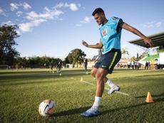 Lyon veut dévier Bruno Guimares du viseur d'Arsenal et Benfica. Lucas Figueiredo/CBF