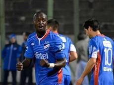 Hasta la segunda mitad, Nacional no vio el gol. BrunoKawazaki