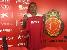 Bryan Reyna ha renovado su vínculo con el Mallorca. RCDMallorca