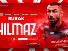 Burak Yilmaz, nuevo jugador del Lille. LOSC