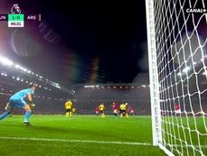 Golazo de McTominay pour son premier but à Old Trafford. Capture/Canal+Sport